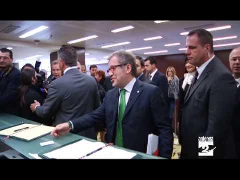 Consiglio regionale Lombardia il debutto di Capelli Antenna 2 TV 27032013
