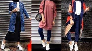 56fc64724 Every day Hijab fashion 2018 ستايلات يومية رائعة للمحجبات ...