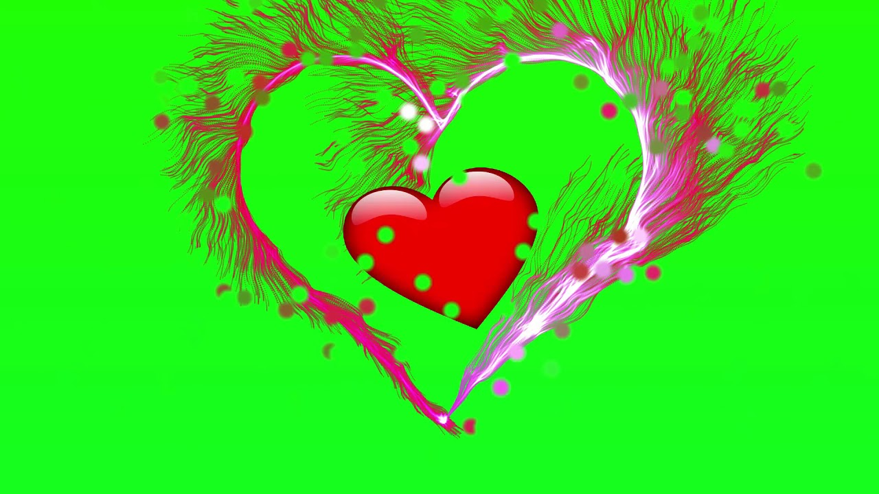 Green Screen || Love Heart Effects || Free Download