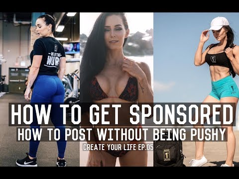 HOW TO GET SPONSORED & HOW TO POST  | Create Your Life EP.05