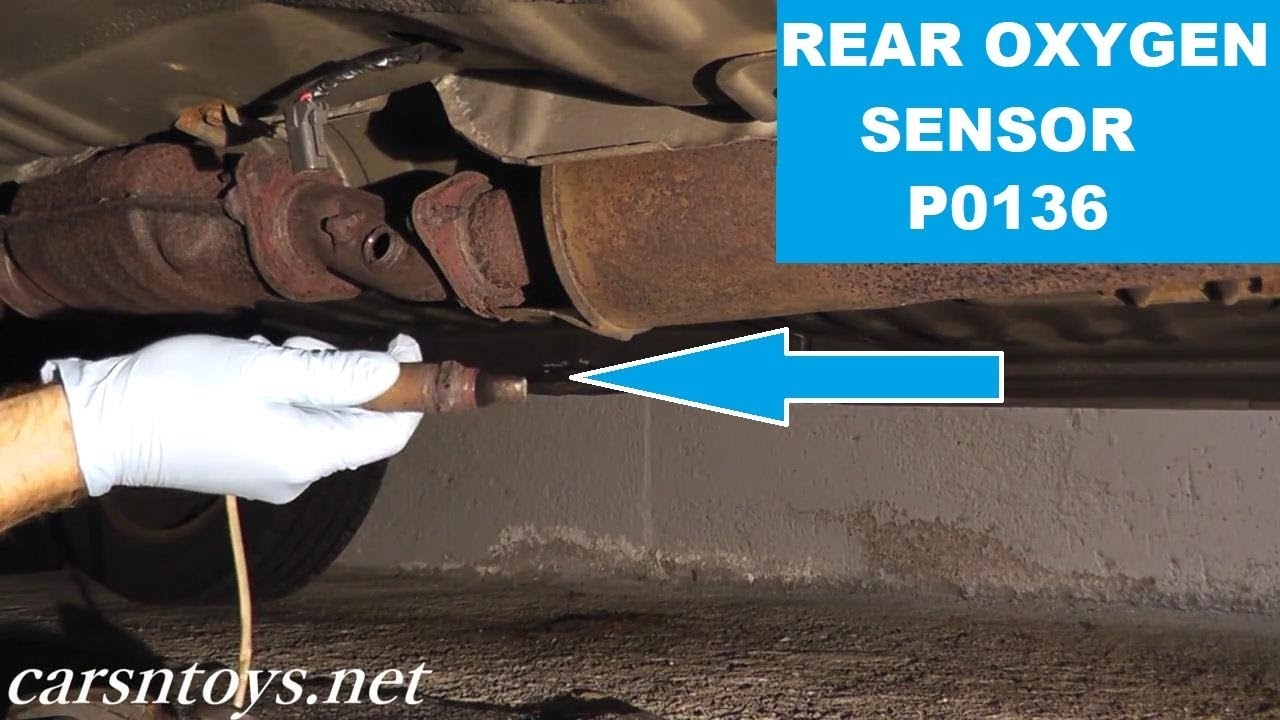 Rear Oxygen Sensor After Catalytic Converter Replacement P0136 Hd Bmw 325i O2 Location