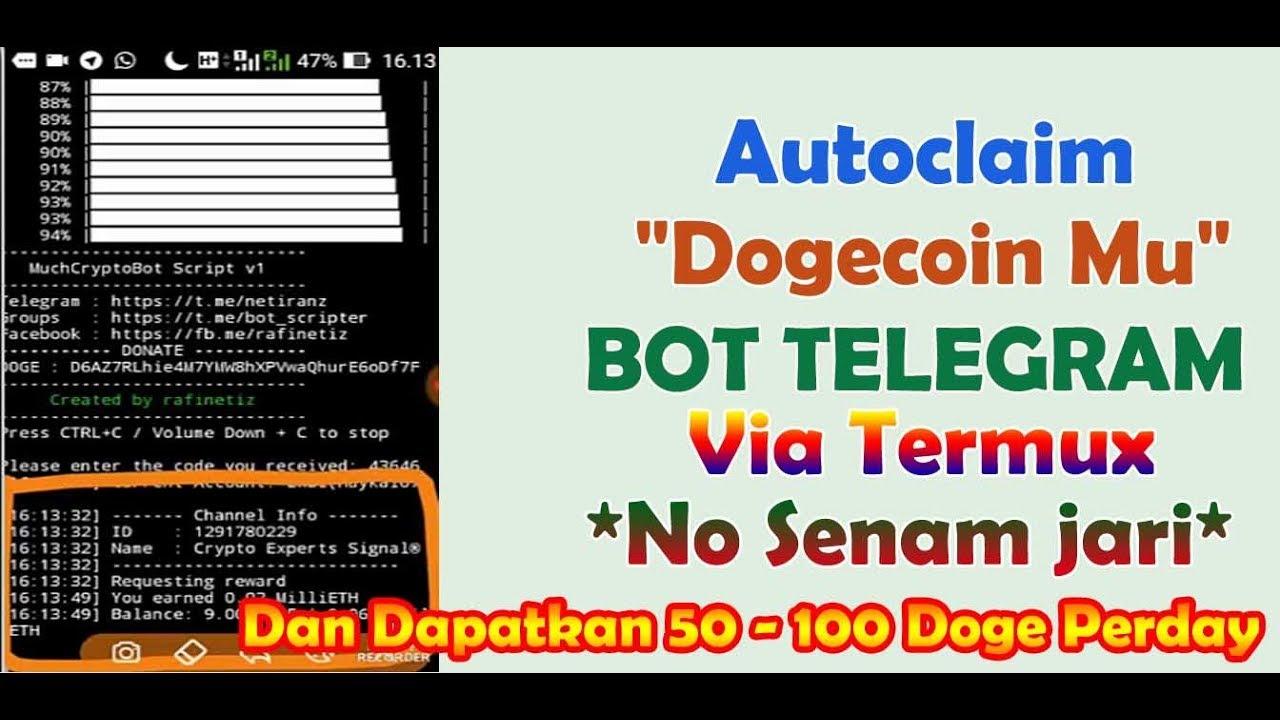 bot bitcoin via termux
