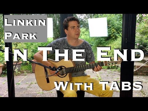 LINKIN PARK - In The End (Acoustic) - Guitar Lesson + Free TABS