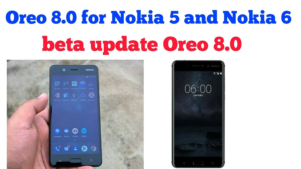 Oreo 8 0 update for Nokia 6 and Nokia 5(in hindi)