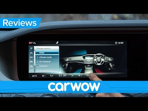 Mercedes S Class 2018 infotainment and interior review | Mat Watson Reviews