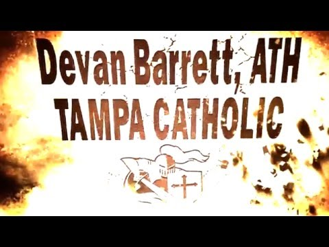Devan Barrett Tampa Catholic High School Rivals 100 (ATH) Class of 2017 Junior Season Highlights