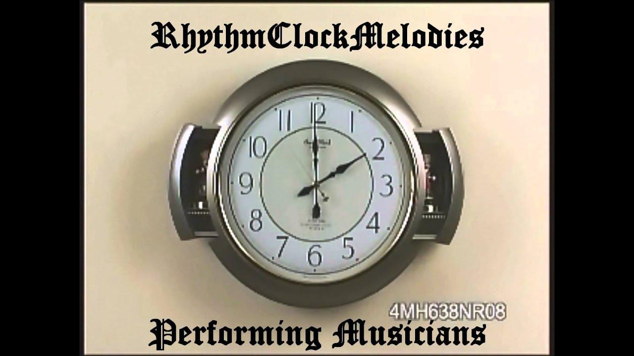 RHYTHM Performing Musicians 4MH638NR08 Magic Motion Wall Clock