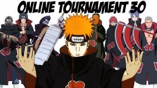 Naruto Shippuden Ultimate Ninja Storm Generations - Online Tournament 30: Akatsuki Only #2