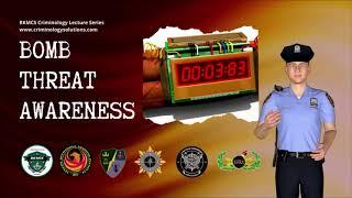 BOMB THREAT AWARENESS