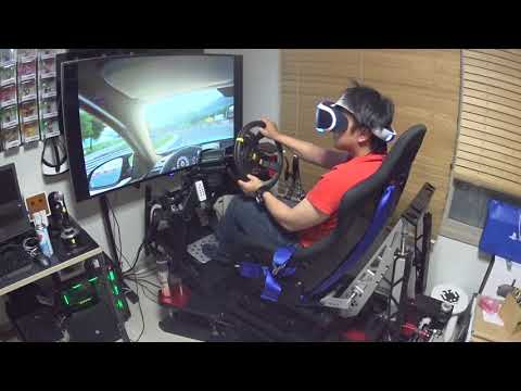 GT Sport PSVR with GIMX and motion simulator