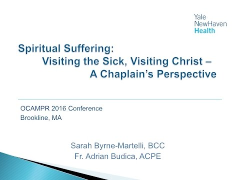 Spiritual Suffering: A Chaplains Perspective