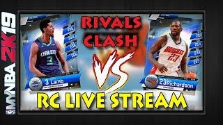 MyNBA2k19   RIVALS CLASH LIVE STREAM   Flash Event Grind (Everyone Pick Bobcats!!!) :-)  