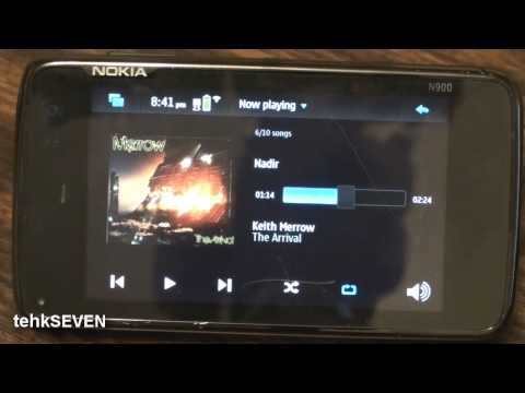 Nokia N900 Music Overview