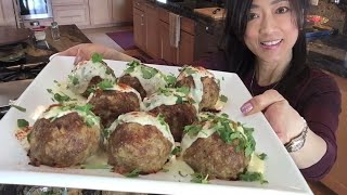 Keto Power Food 8 - Giant meatballs