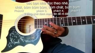 cách chơi điệu soul guitar với ví dụ bài túp lều lý tưởng