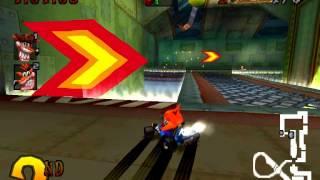 Crash Team Racing Crash vs Fake Crash Battle