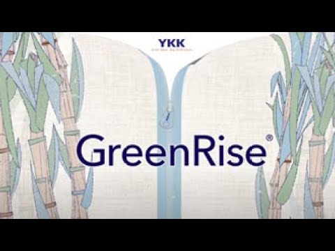 YKK® sustainable zipper: GreenRise®
