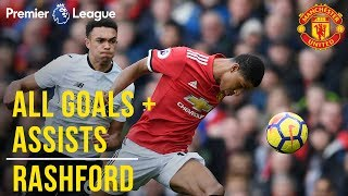 Marcus Rashford  All the Premier League Goals  Assists  Manchester United