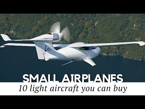 10 Smallest Airplanes You Can Actually Buy in 2018 (Honest Review)
