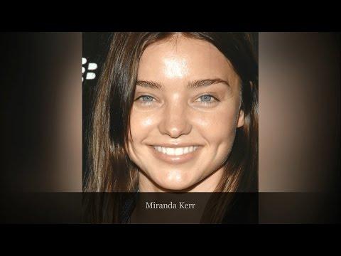 Natural Beauties : 38 Celebrities Gorgeous Without Makeup