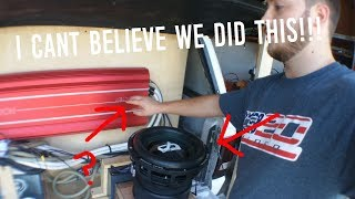 WHY DID WE DO THIS?!!? (20hz Alphard Deaf Bonce FREE AIR on 17KW!!!!)