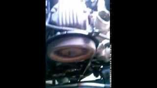 1º giro motor FGP (novo) instalado no monza 94