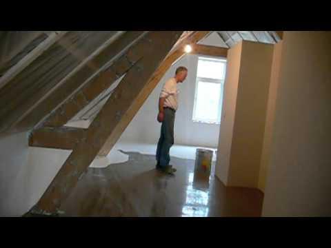 Het aanbrengen van een pu gietvloer youtube