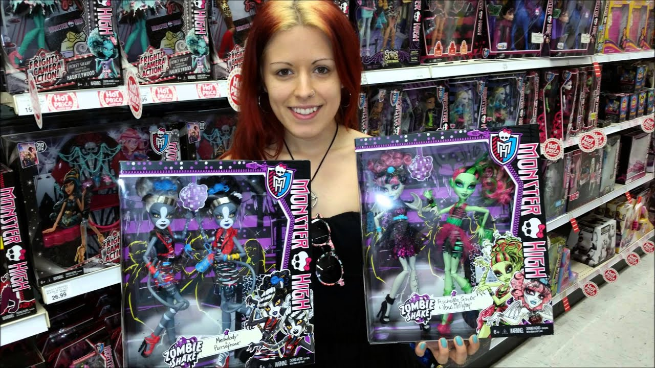 Zombie Toys R Us : Doll hunting find new monster high zombie shake at toys r