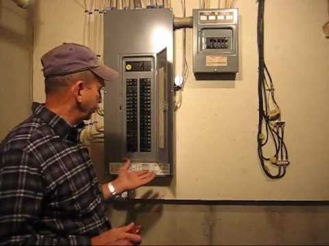 How to Change a Circuit Breaker - YouTube Replacing A Circuit Breaker In An Electrical Panel on electrical circuit breaker panel, 150 amp circuit breaker panel, home circuit breaker panel, main circuit breaker panel,