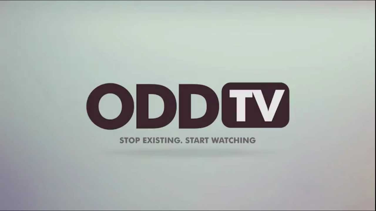 ODDTV Ident - Stop Existing. Start Watching.