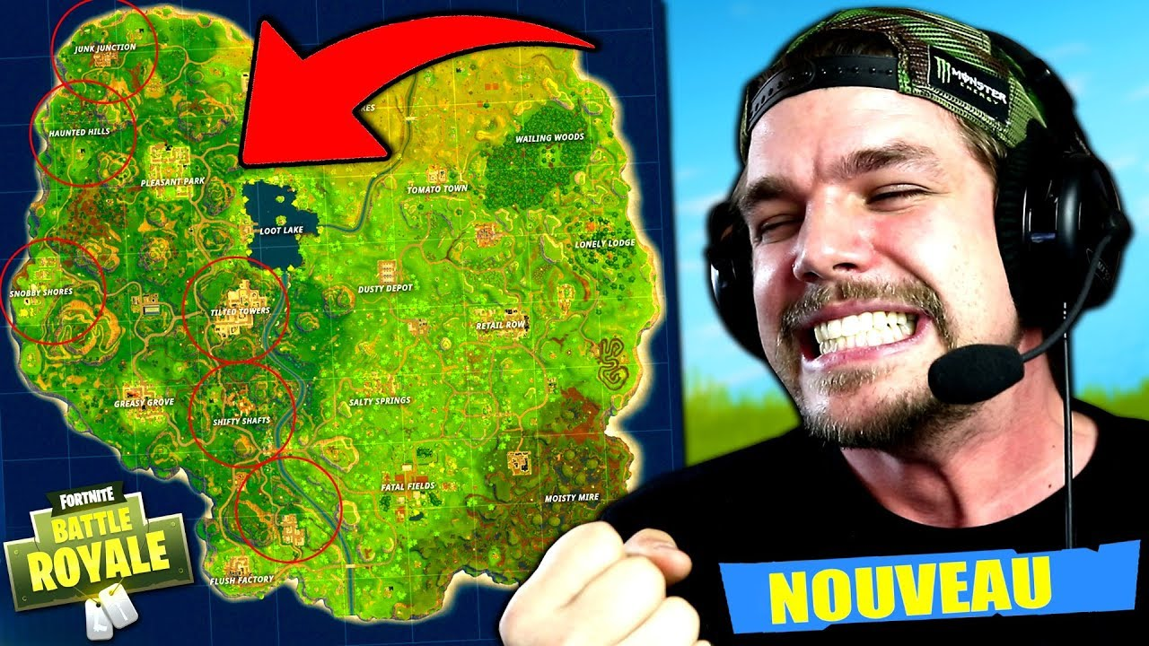 La NOUVELLE MAP sur Fortnite: Battle Royale !! - YouTube