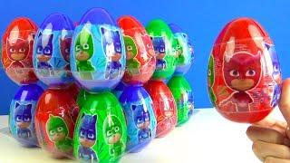Pyjamahelden 24 Überraschungseier Spielknete Spielzeuge Pj Masks Puzzle