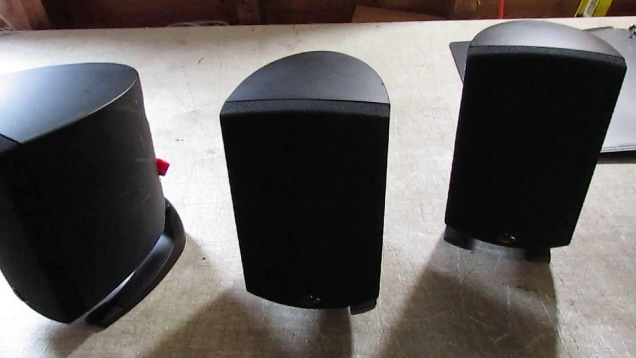 klipsch surround sound speakers. klipsch quintet 5.1 surround sound speakers~rising phoenix antiques speakers i
