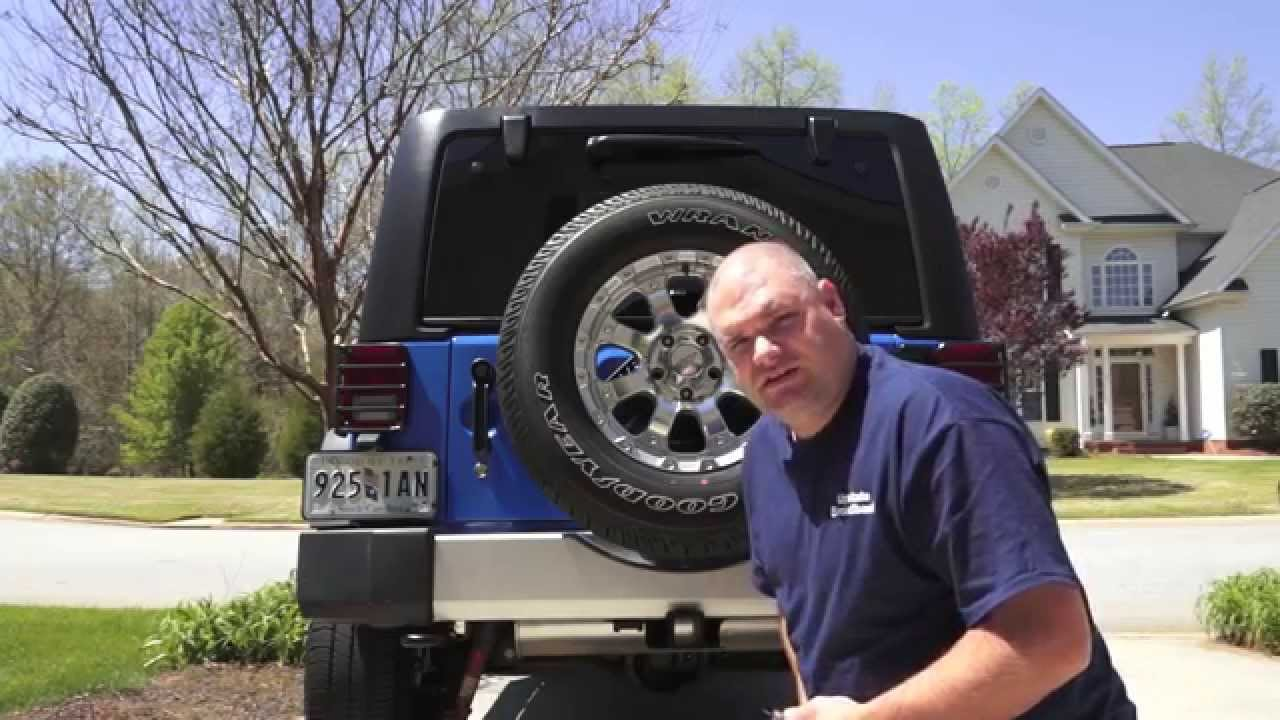 Jeep Wrangler How To Install Rear Camera Part 1 Jk Jku Youtube Alpine Head Unit Wiring Diagram Http Wwwjkforumcom Jkelectrical