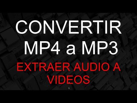 Como Convertir MP4 a MP3 facil y agil, para archivos grandes y pequeños...