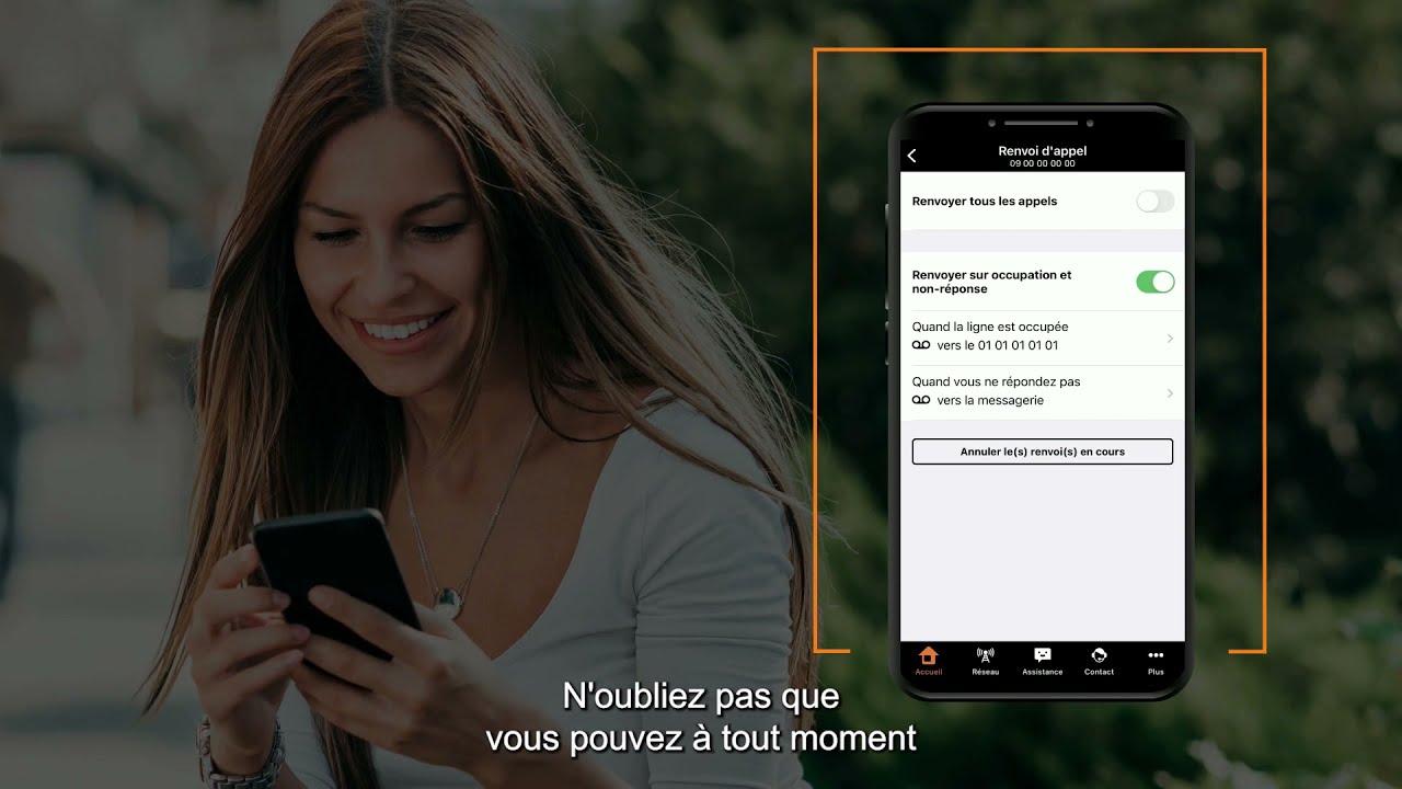 Les tutos d'Orange Pro : activer un renvoi d'appel