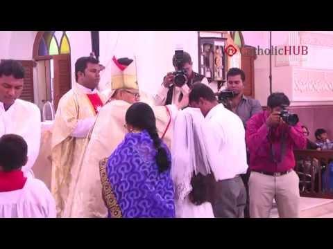 FIRST HOLY COMMUNION At St. Joseph's Cathedral Church Gunfoundry,HYD,20-11-14 (Part-02).HD