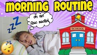 Morning routine for school-Rutina de la mañana en el colegio/MATERIAL ESCOLAR!!!El mundo de Indy