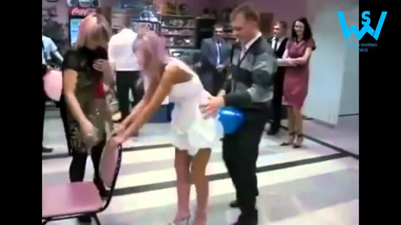 Russian bride dancing on