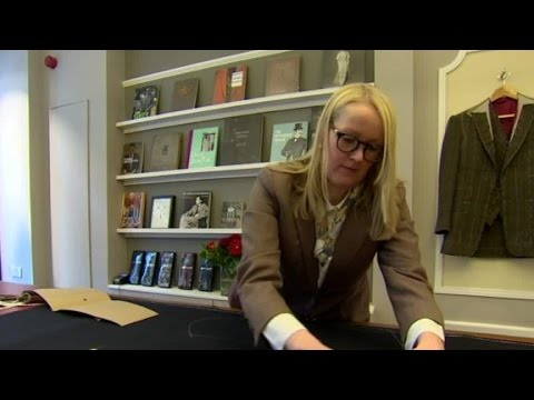 Britain's first female master tailor