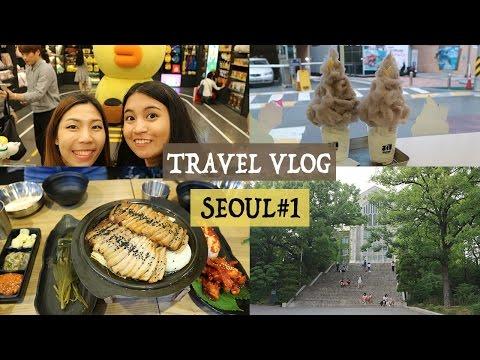 South Korea Travel Vlog: Seoul #1