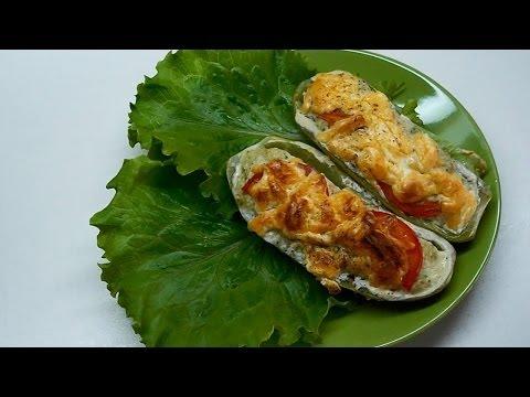 Недорогой рецепт Вкусно и просто Рецепт приготовлении кабачков фаршированных. Пошаговый рецепт с видео.