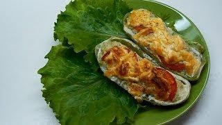Вкусно и просто: Рецепт приготовлении кабачков фаршированных. Пошаговый рецепт с видео.