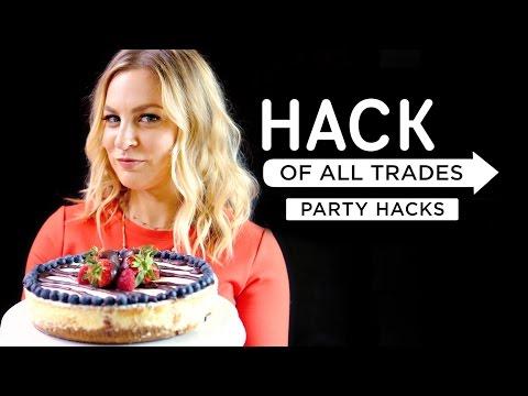 5 DIY Party Hacks | Hack Of All Trades