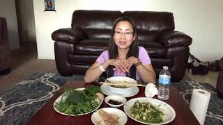 Repeat youtube video Eating homemade food yummy and spicy!