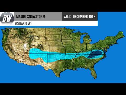 Major Winter Storm For Southeast And Mid Atlantic