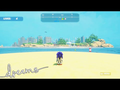 INSANE SONIC GAME! | Dreams PS4