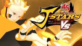 J-Stars Victory VS, Free Battle #01 Uzumaki Naruto Kurama Mode gameplay - Nillo21.