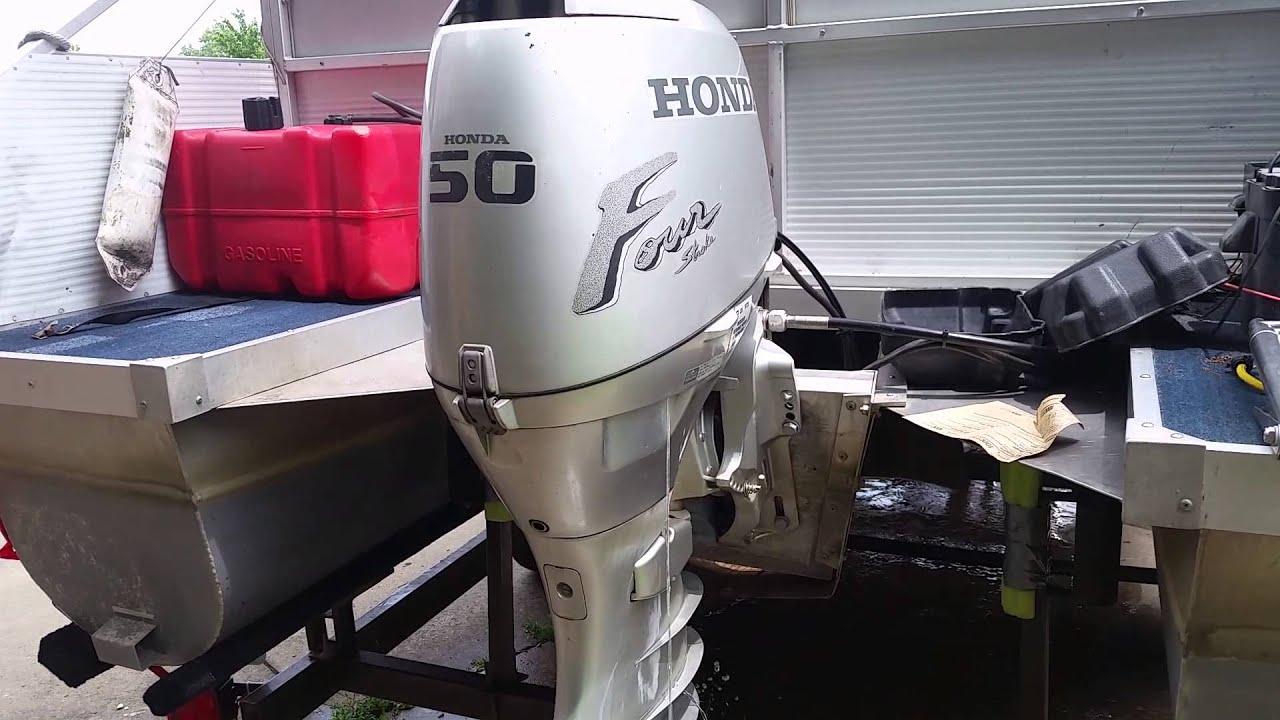 Honda 4 stroke 50 hp doovi for Yamaha outboard compression test results