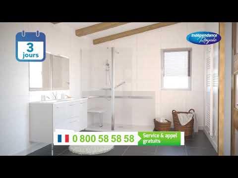 Vidéo Pub TV Indépendance Royale - Réfection de salle de bain